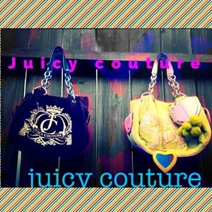 2 Authentic Juicy Couture Bags